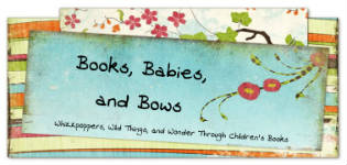 book reviews for parents- books babies and bows logo