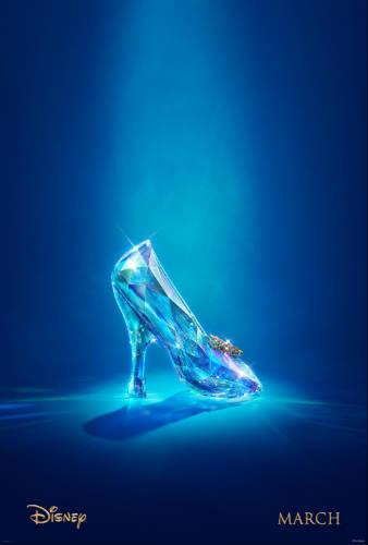 Disney Cinderella glass slipper