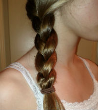 Athena - Greek goddess costume braid