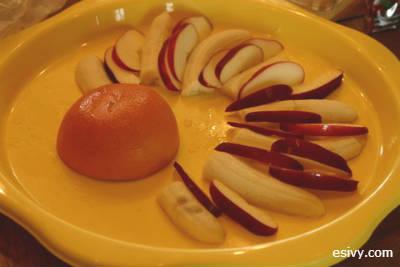 fruit turkey start of tail