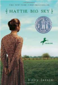 Newberry book Hattie Big Sky