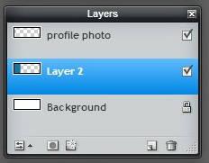 Pixlr tutorial: layer 2 below