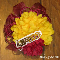 homecoming mum diy flower