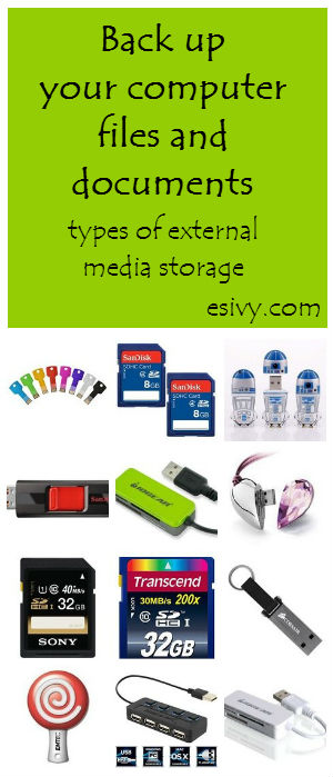 types of computer storage media
