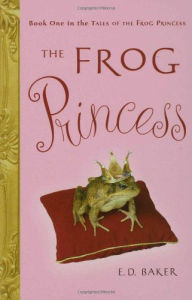 Best Books for girls Frog Princess 321x500