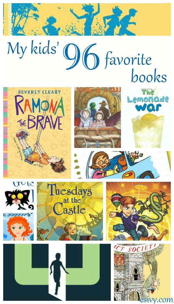 My own kids' favorite books. A reference to 96 of the best books for children.