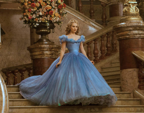 Cinderella impossibly tiny waist